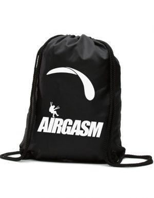 Airgasm Siklóernyős Hátizsák fekete fehér
