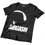 Airgasm Siklóernyős póló férfi fekete