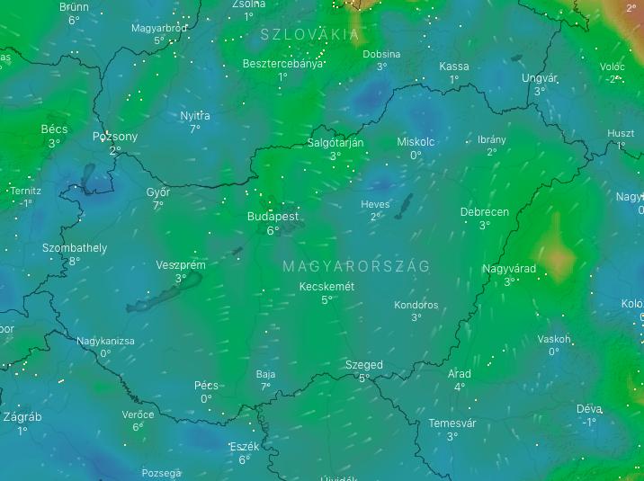 Siklóernyőzés időjárás előrejelzés