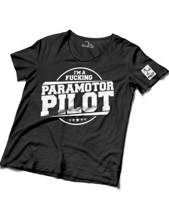 I'm a Fucking Paramotor Pilot Férfi Hátimotoros Póló